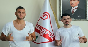 Boluspor, 2 oyuncuya daha imza attırdı