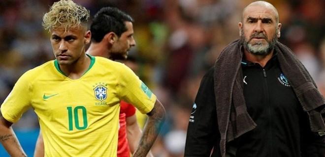 Eric Cantona, Neymar'la dalga geçti!