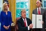 Donald Trump o kararnameyi imzaladı