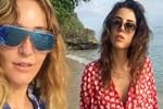 Cansu Dere ve Ece Sükan'ın Jamaika tatili sürüyor