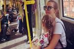 Meryem Uzerli'den 'metro' paylaşımı