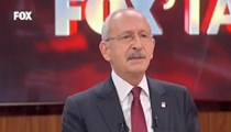 Kılıçdaroğlu FOX TV'de soruları yanıtladı