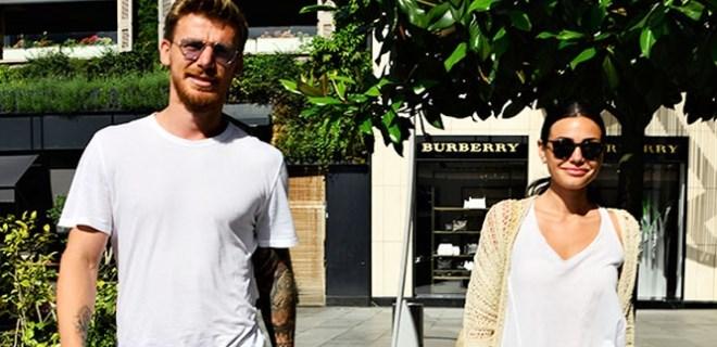 Serdar - Tuğçe Aziz çifti alışveriş turunda
