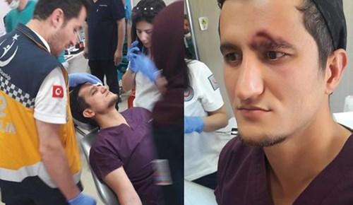 Sivas'ta diş hekimine çirkin saldırı!