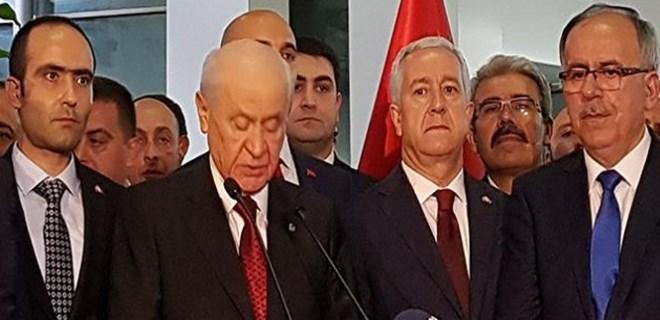 MHP Lideri Bahçeli: