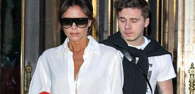 Victoria Beckham'ın yüzünden düşen bin parça!