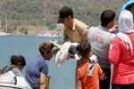 Sürat botunda 15 sığınmacı yakalandı!