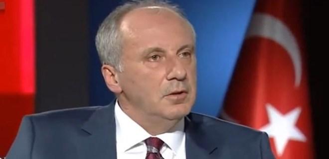 Muharrem İnce TRT'nin 10 dakikalık konuşmasını reddetti