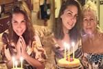 Tuğba Özerk yeni yaşını Alaçatı'da kutladı
