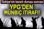 YPG, Münbiç'ten çekiliyor