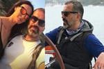 Arda Esen - Sema Şimşek çiftinin aşk tatili
