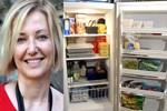 Berna Laçin'den buzdolabı paylaşımı