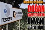 Doğan Gazetecilik'in unvanı değiştirildi!