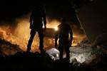 İdlib'e dehşet veren hava saldırısı