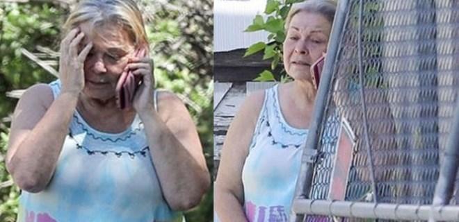 Bir zamanların ünlü oyuncusu her gün ağlıyor