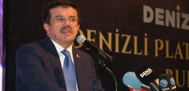 Bakan Zeybekci esprili bir dille iş adamlarından partisine oy istedi