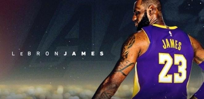 LeBron James resmen Los Angeles Lakers'ta
