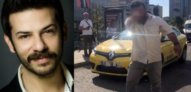 Ahmet Tansu Taşanlar'a taksiciden saldırı!