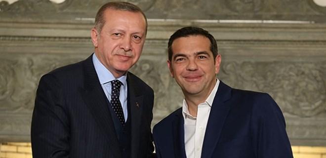 Aleksis Çipras'tan Erdoğan açıklaması