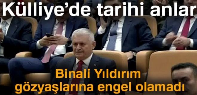 Başkan Erdoğan'dan Binali Yıldırım'a şeref madalyası!