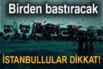 İstanbul'da bugün yağmur var!