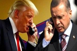Cumhurbaşkanı Erdoğan, Trump ile telefonda görüştü