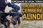 Gümüşhane kırsalında PKK'lı grup ile sıcak temas