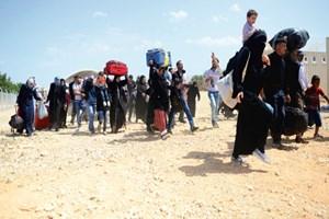 PKK, 17 Suriyeli aileyi kaçırdı!