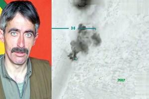 PKK'nın lojistik sorumlusu SİHA'nın atışıyla vuruldu