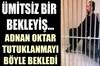 İstanbul Cumhuriyet Başsavcılığı'nın talimatı ile gözaltına alınan Adnan Oktar'ın Çağlayan Adliyesi...