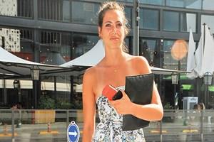 Zehra Çilingiroğlu Bodrum'da bronzlaştı