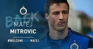 Club Brugge Mitrovic'i açıkladı