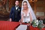 Nihat Kahveci ile Fulya Sever evlendi