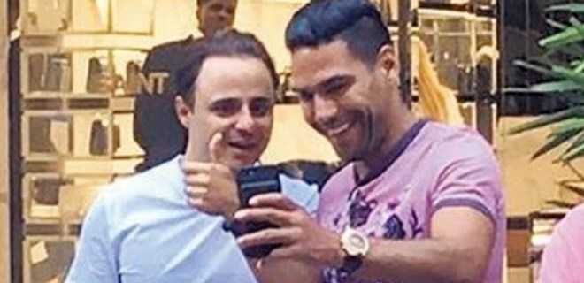 Miami'de Falcao ve Massa buluşması