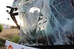 Amasya'da yolcu otobüsüyle tır çarpıştı