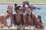 Kıvanç Tatlıtuğ ve Başak Dizer'in havuz keyfi