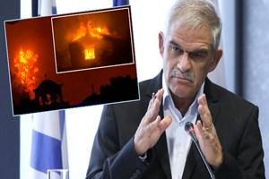 Yunan Bakan'dan yangına ilişkin vahim açıklama!
