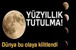 İstanbul'dan fotoğraflarla 'Kanlı Ay' tutulması