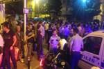 Palalı saldırganlar mahalleyi birbirine kattı