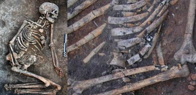 4 bin 500 yıl öncesine ait kemiklerde gizemli izler