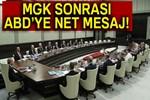 Yeni sistemin ilk MGK toplantısı sonrası açıklama