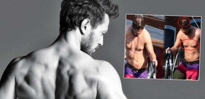 Murat Boz'dan 'kaslı vücut' paylaşımı