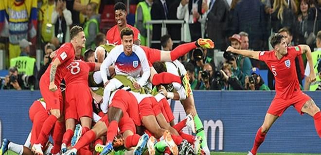 İngiltere penaltılarda turladı