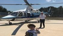 Ali Ağaoğlu oğlu için helikopter gönderdi
