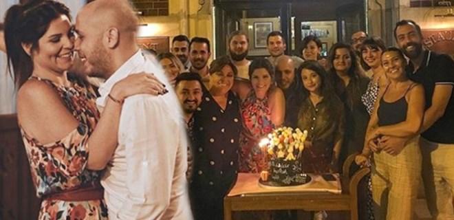 Pelin Öztekin'e sevgilisinden sürpriz parti!