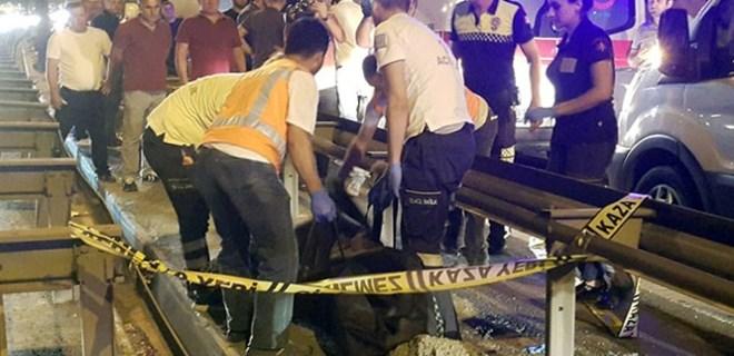 TEM'de feci kaza: 1 kişi hayatını kaybetti!