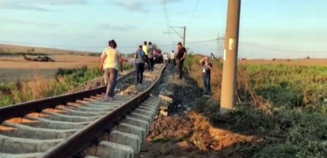 Başbakanlık tren kazasının nedenini açıkladı!..