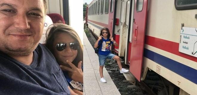 Tren faciasında baba-oğul hayatını kaybetti!