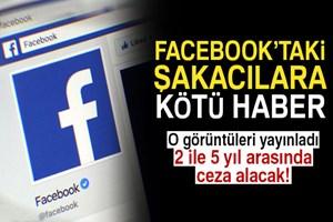 Facebook'taki şakacılara kötü haber!
