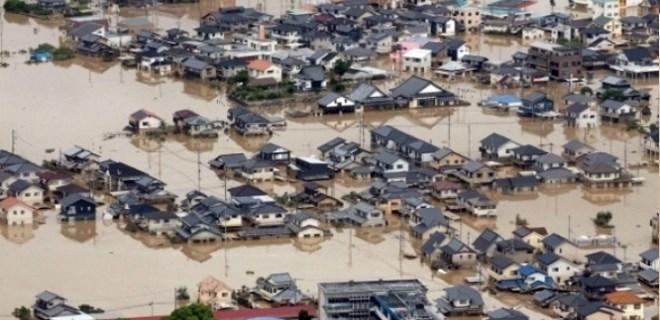 Japonya'da sel ve toprak kayması felaketi